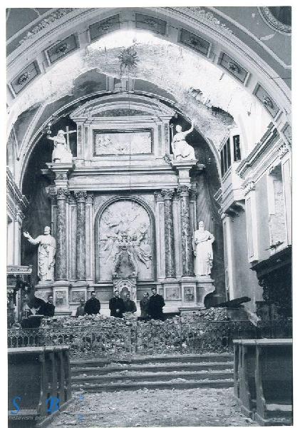 Izlozba Razaranje Senjske Katedrale Uznesenja Bdm U Ii