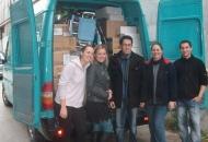 """Humanitarna udruga""""Bura"""" u akciji prikupljanja pomoći za Slavoniju"""