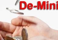 "Bespovratne ""de minimis"" potpore"