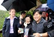 Myung Ken Lee - milijuntni posjetitelj Plitvičkih jezera