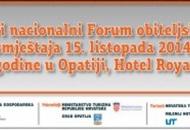Forum obiteljskog smještaja 15. listopada u Opatiji