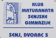 Klub maturanata Senjske gimnazije na novoj adresi