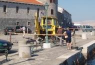 Sanacija dijela rive ispred lučke kapetanije