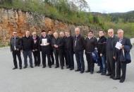 Grupa svećenika Krčke biskupije posjetila Senj, Krasno i Otočac
