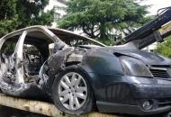 Postavio zapaljivo sredstvo i izazvao požar na osobnom automobilu
