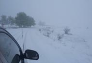 Snijeg pada mjestimice u Lici i na autocsti A1