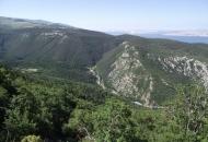 Senjska Draga - duboka dolina...