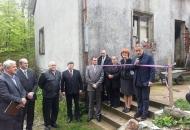 """Započeli radovi na uređenju Spomen kuće Damiru Tomljanoviću """"Gavranu"""""""