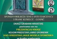 Prezentacija knjige Spomenik i model Spomenika znamenitim Ličanima našeg kraja.