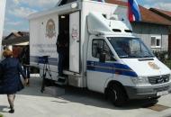 Mobilno šaltersko vozilo od slijedećeg tjedna na području PU ličko-senjske