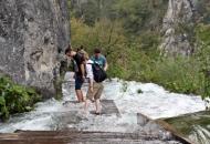 Poplave na Plitvicama oduševljavaju turiste