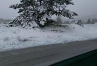 Snijeg i u svibnju mjesecu
