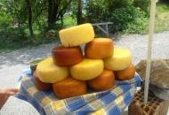 Prodaja sira uz cestu