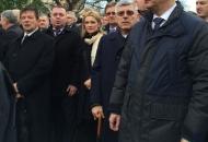 Župan Kolić i zamjenica Tomaš u Koloni sjećanja u Vukovaru