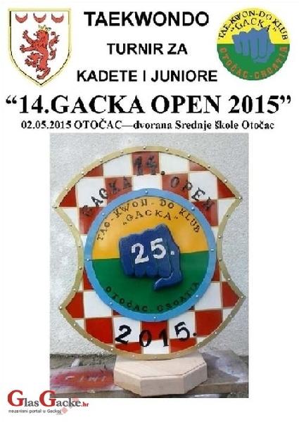 14. Gacka Open, 2.svibnja u Otočcu