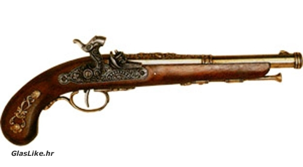 Znam te puško dok si pištolj bila