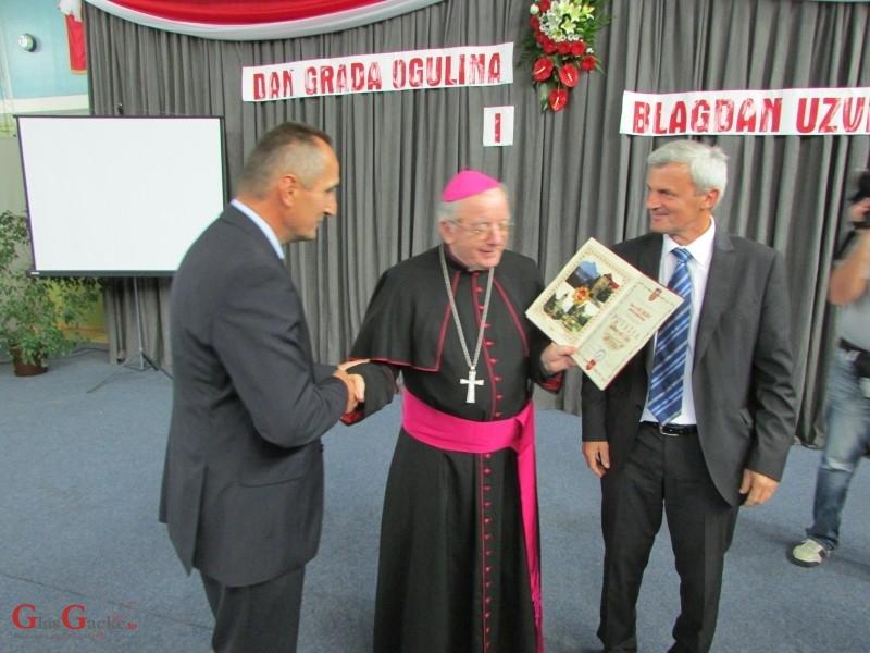 Počasni građanin Ogulina mons.dr. Mile Bogović