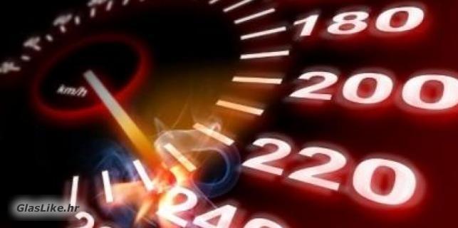 BMW-om vozio 222 km/h na autocesti A-1