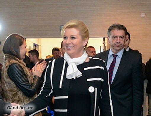 Predsjednica Kolinda Grabar-Kitarović dolazi u Gospiću u povodu Dana Županije