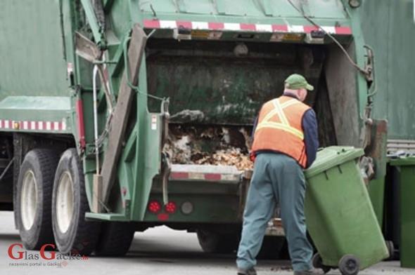 Obavijest o odvozu komunalnog otpada za 01. svibnja 2015.