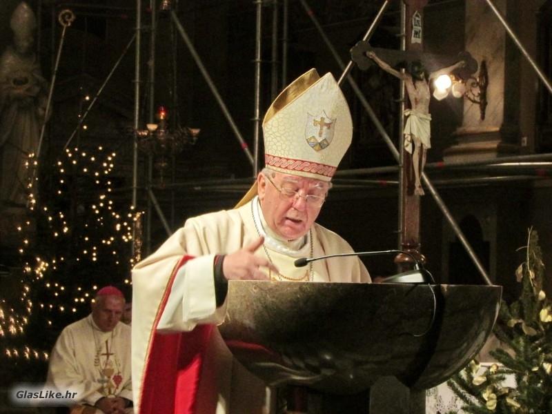 Biskup Bogović na 27. božićnim danima hrvatskih katolika u Sloveniji