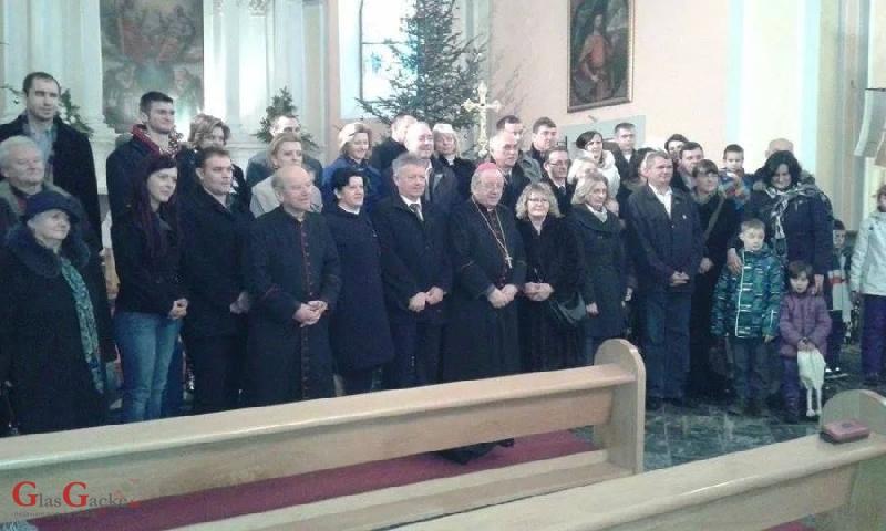 Svetkovina Svete obitelji u župnoj crkvi u Otočcu