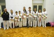 Polaganje za školske pojaseve - Taekwondo Gacka