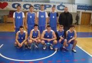 Košarkaši Srednje škole Otočac pobjednici