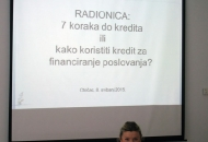 """U Otočcu održana radionica HBOR-a """"7 koraka do kredita"""""""