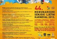 Senjski ljetnji karneval - od 2. do 8. kolovoza