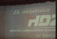 25. Obljetnica osnivanja HDZ-a u Senju