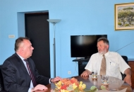 Županu Koliću uručena počasna značka IPA-a