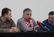 Glogoški, Klemm i Deur na tribini branitelja u Gospiću