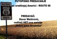 """Putopisno predavanje """"Route 66"""" u KIC-u Gospić"""