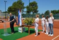 Svečano otvorenje novih teniskih terena u Novalji