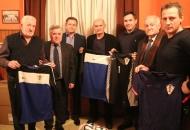 Izvršni predsjednik HNS-a Vrbanović sa suradnicima na Izbornoj skušptini NK Gacka 1925 Sinac
