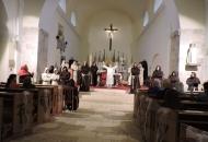 U senjskoj katedrali Uznesenja BDM  gostovalo je Pučko kazalište s otoka Hvara