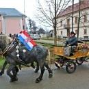 Konjskim zapregama ulicama grada