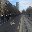 """Branitelji iz Like u Zagrebu u koloni """"Jedan križ, jedan život"""""""