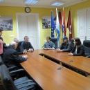 Povodom Dana bijelog štapa za članove Udruge slijepih prijam kod gradonačelnika Otočca