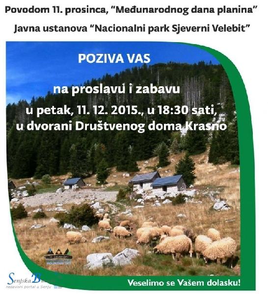 Međunarodni dan planina - u Krasnu 11. prosinca
