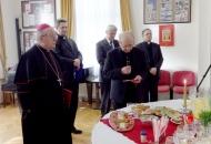 Božićno primanje biskupa Bogovića
