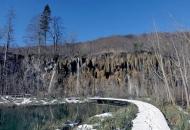 Gornja jezera pod laganim snijegom
