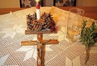 Započinje se s blagoslovom obitelji u Senju