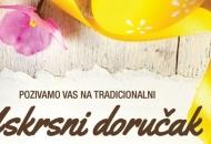 Uskrsni doručak u ponedjeljak na Trgu Bazilike