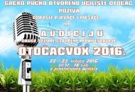 Audicija za OTOČACVOX 2016.
