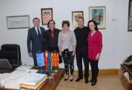 Veleposlanica Republike Makedonije u RH posjetila Grad Senj