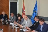 Župan Kolić na radnom sastanku sa ministrom Tolušićem