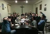 Grupa mladih Riječana u senjskoj katedrali