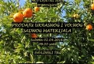Prodaja ukrasnog i voćnog sadnog materijala u Senju